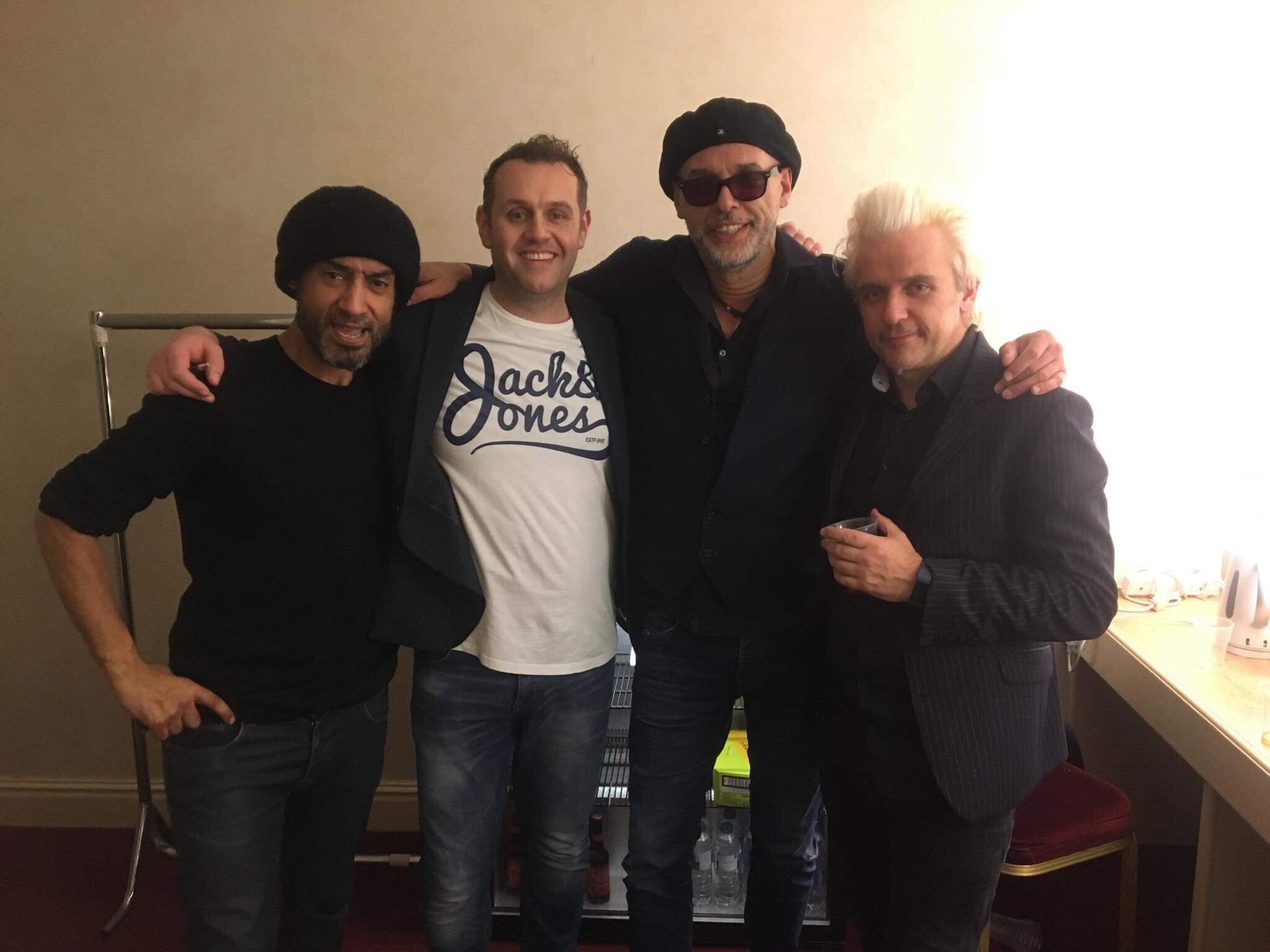 Alex with The Christians